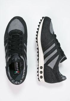 adidas Originals LA TRAINER - Sneaker low - core black chalk white Adidas  Originals, a35dd4dcac