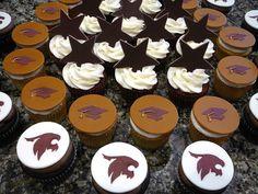 Texas State University Bobcat Cupcakes - Cake Doctor, LLC