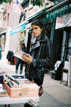 fantastic leather jacket