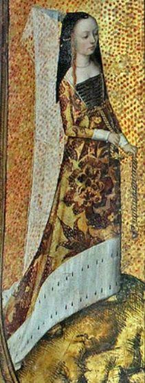 painted shield,det lady-BM