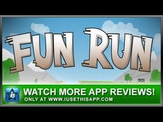 Fun Run iPhone App Review #iphone #android