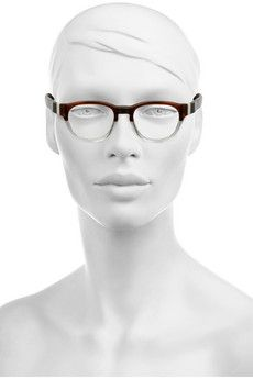 MARNI  Round-frame acetate optical glasses