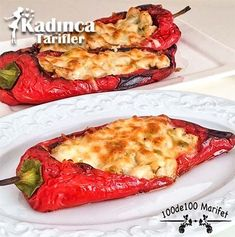 Creamy Chicken Recipe in Red Pepper Bed How to Make Diet Food - Diyet - - Turkish Recipes - Turkish Recipes, Italian Recipes, Ethnic Recipes, Salad Recipes, Diet Recipes, Chicken Recipes, Turkish Kitchen, Fresh Fruits And Vegetables, Iftar