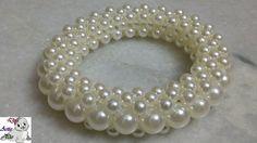 #2 How to make Pearl Beaded Bracelet or Bangle || Diy || Jewellery Making