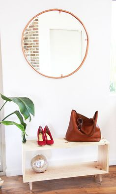 Eclectic Living Room Inspiration | DIY Living Room Decor | DIY Art | Vintage Revivals