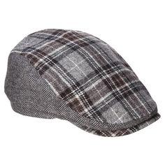 Men s Hat Plaid Driver - Brown   Target Kids Hats 1fc21aed104c