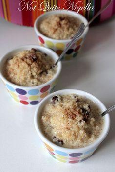 sweet quinoa pudding