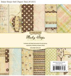 "Simple Stories ""Baby Steps"""