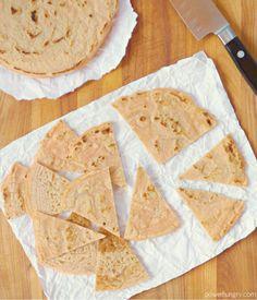 Red Lentil Tortilla Chips {Grain-Free, Vegan} | power hungry