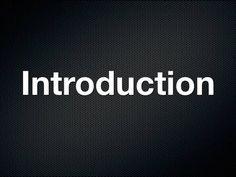 MCA Introduction Video
