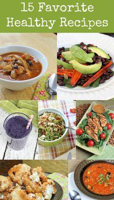 15 of my Favorite Healthy Recipes - Mom Foodie - Blommi