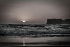 Sunset on the Indian ocean, Victoria, Australia.