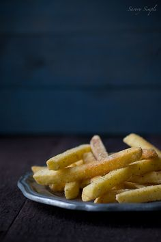 These buttermilk ranch french fries are insanely delicious. You might just eat the entire batch.