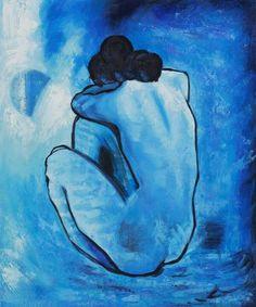 Pablo Picasso blue nude