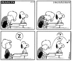 Snoopy loves music