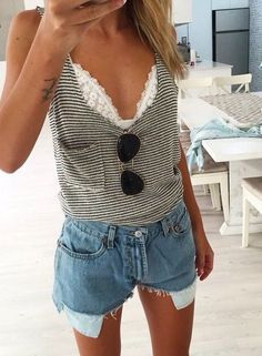 Find and save ideas about outfit trends on Women Outfits. Cool Summer Outfits, Spring Outfits, Summer Dresses, Summer Clothes, Beach Outfits, Casual Beach Outfit, Concert Outfit Summer, Concert Outfits, Beach Attire