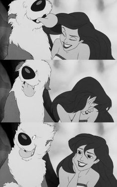 I just love this little scene of The Little Mermaid...
