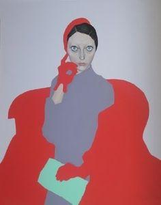 Francesco Merletti born Milan 1966,  Oil and enamel on