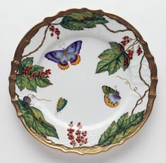 Anna Weatherley fine tableware, hand painted in Hungary. Its more than tableware - its art for your table.