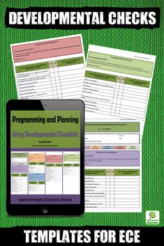 This professional resource is a downloadable E-book Guide to using developmental checklists effectively as part of a documentation cycle. Templates are included with links to the Australian Early Years Framework (EYLF) Outcomes as well as the National Quality Standards (NQS). Perfect for early childhood teachers, homeschool and family daycare educators.