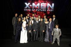 The cast of X-Men DOFP