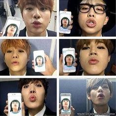 When the hyung start their revenge on maknae kookie (pic isn't mine) | allkpop Meme Center