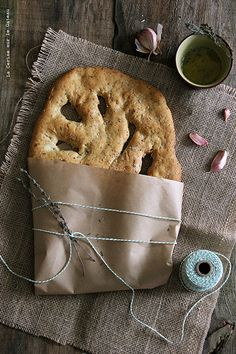 Garlic & Olive Oil Fougasse