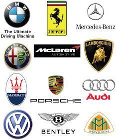 Car Logos Car Logos With Names, All Car Logos, Sports Car Logos, Car Brands Logos, Auto Logos, Luxury Car Logos, Luxury Car Brands, Luxury Cars, High End Car Brands