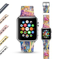 The Status Of Having A Luxurious Watch Apple Watch Iphone, Apple Watch Bands 42mm, Apple Watch Models, Apple Watch Series 2, Leather Watch Bands, Apple Products, Pink And Gold, Purple, Princess Belle