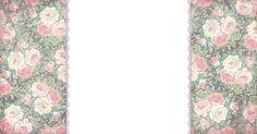Shabby Chic Wallpaper Border | Blogger Backgrounds | Shabby Blogs