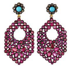 Mosaic Earring | J/Hadley  Gorgeous design!!!  #earrings #jhadley