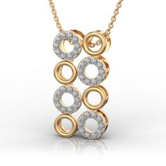 Hoopla Party with Rock and Metal in Yellow Gold Pendant Gold Pendant, Pendant Necklace, Diamonds And Gold, Party Wear, Diamond Jewelry, Jewelry Collection, Pendants, Rock, Yellow