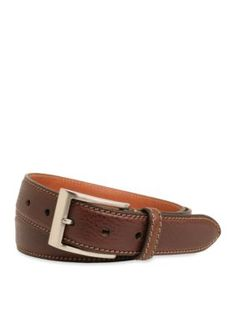 Trafalgar  35-mm. Brandon Italian Calfskin Leather Belt