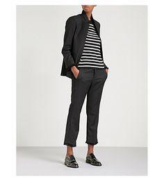 Striped cashmere jum