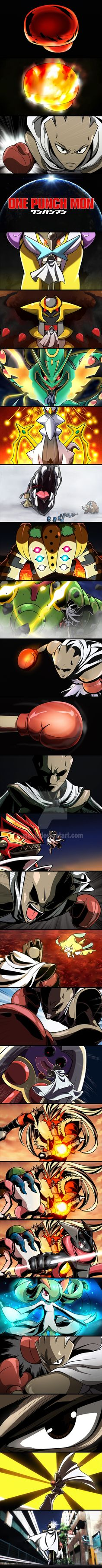 One Punch Mon