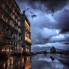 Via Partenope in Napoli, Campania