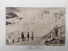 38 Early Original Photographs Switzerland Alps Chamonix France Climbers 1880s