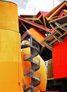 BioMuseo - Frank Gehry....wish it was a slide instead of a staircase:)