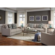 Three Posts Levay Configurable Living Room Set is part of Industrial Living Room Beautiful - Cheap Living Room Sets, Living Room Colors, Small Living Rooms, Living Room Designs, Small Bedrooms, Rooms Home Decor, Living Room Interior, Interior Livingroom, Living Room Furniture