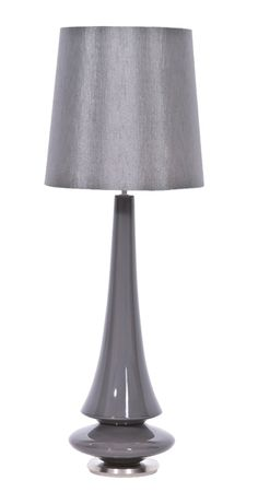 Spin Table Lamp Grey