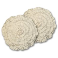 Lush Decor Lucia Round Decorative Pillows, Ivory, Set of 2 Lush Decor,http://www.amazon.com/dp/B00DOPGUKM/ref=cm_sw_r_pi_dp_QINvtb084W8Z63Z4