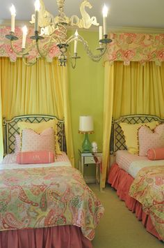 I had a princess bed like this growing up and I have the side table between the beds in my house now!