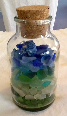 My Sea glass collection...