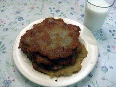 Slovak potato pancakes- Potato pancakes (zemiakové placky, or also called haruľa) are very popular in Slovakia. They are similar to latkes, but are seasoned with marjoram,...