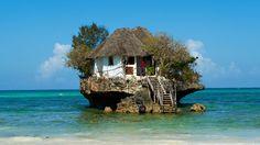 Zanzibar, Tanzania- The Rock Restaurant