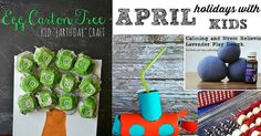 Celebrate April holidays with fun activities for kids. http://faithfilledparenting.com/april-holidays-kids/4/