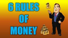 6 Rules Of Money Make Money Online, How To Make Money, Solo Ads, Busy At Work, Youtube, Youtubers, Youtube Movies