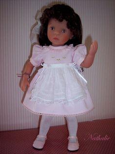 Tenue pour poupée Minouche de Sylvia Natterer