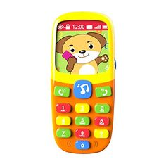 Music Mobile Phone-Toddler Toys-for Kids Designed Learning Toys-Cartoon Music Phone-The Best Educational Toy Gift-Baby Cell Phone-Toys for 1 Year Old Girl-Toys for 1 Year Old Boys-Baby Toys Baby Girl Toys, Toys For Girls, Kids Learning Toys, Learning Music, Toddler Learning, Best Educational Toys, Toys For 1 Year Old, Kids Electronics, Thing 1