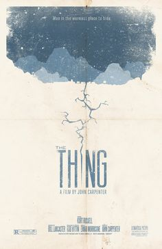 The Thing Movie Poster $20